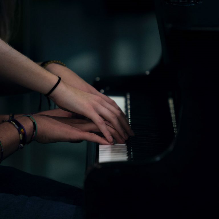 Play the piano and relax