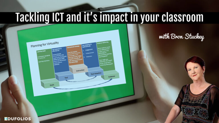 How to talk about your impact with ICT in your evidence of practice